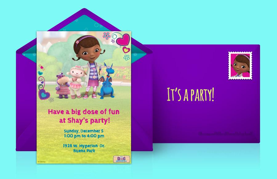 Plan a Doc McStuffins Party!