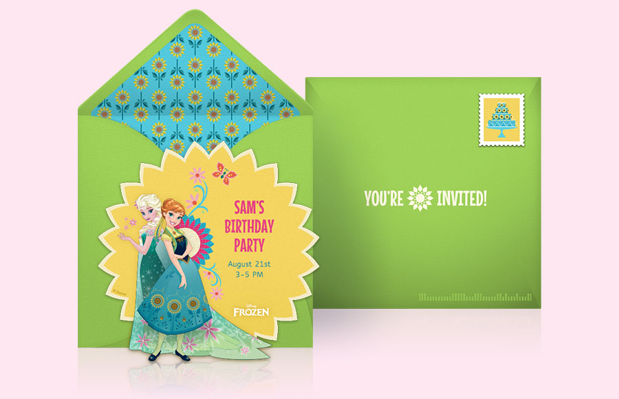 Plan a Frozen Fever Party!