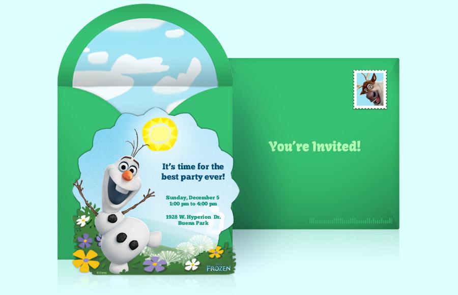 Plan a Frozen Party!