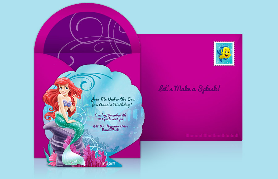 Plan a Little Mermaid Party!