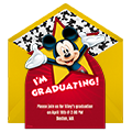 Mickey Graduation