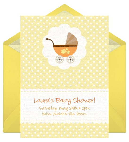 Free Baby Shower Invitation Template by Punchbowl
