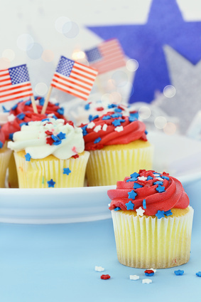 july 4th cupcake ideas