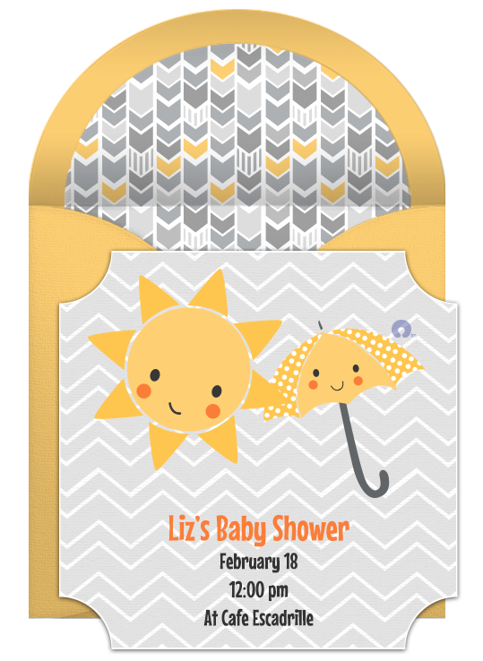 Free Baby Shower Online Invitation