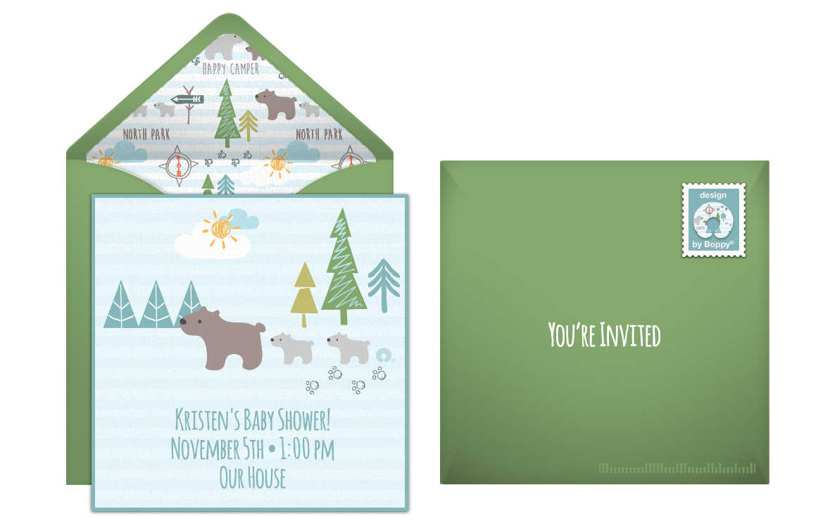 free gender reveal online invitations