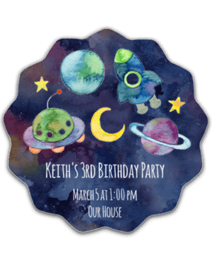 Outer Space Birthday