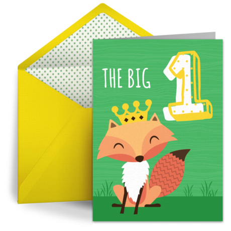 1st Birthday Friends – 1st Birthday Card