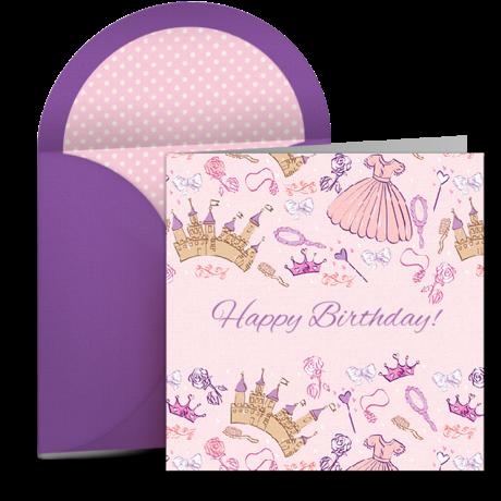 Birthday Princess – Happy Birthday Princess Card
