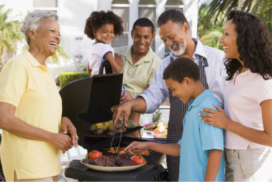 plan a mother's day bbq