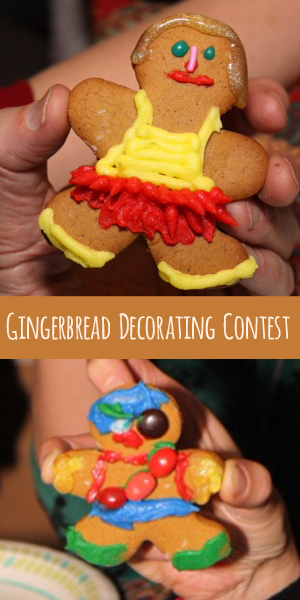 Ugly Sweater Party Game: Gingerbread Decorating Contest