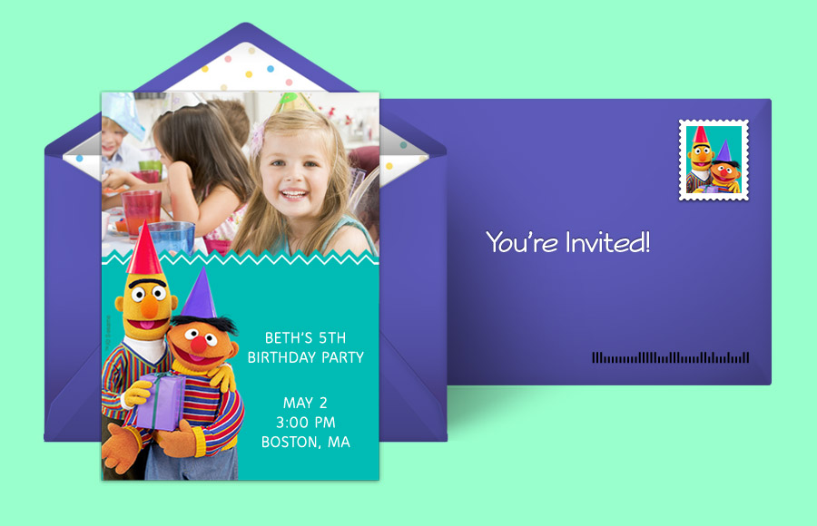 Plan a Bert & Ernie Photo Party!