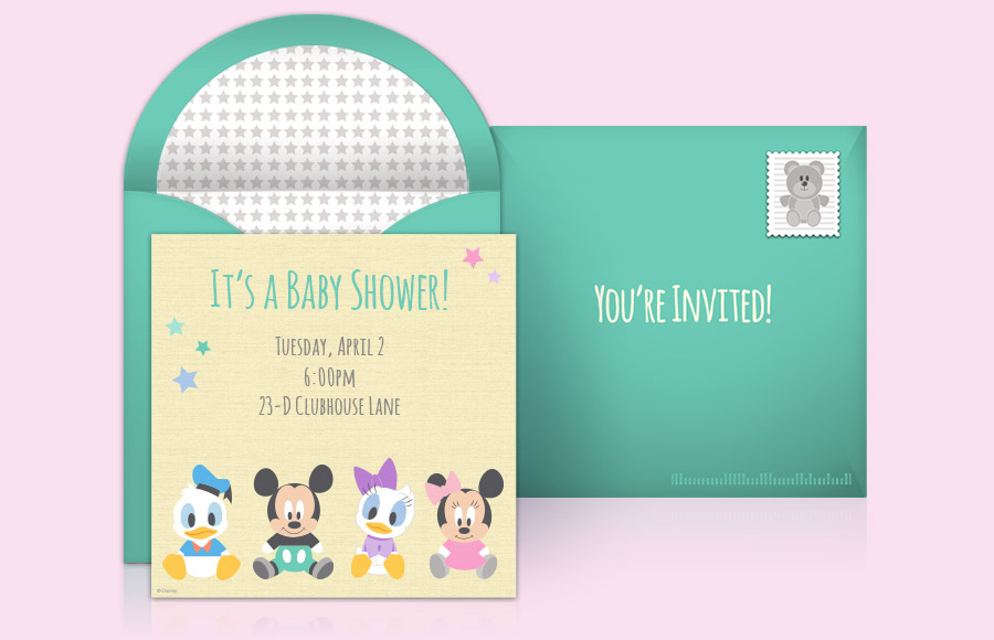 Plan a Disney Baby Shower Party!