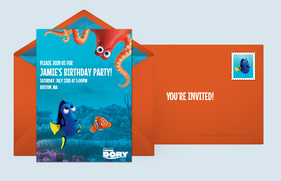 Plan a Finding Dory Friends Party!