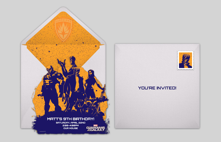 Plan a GOTG Group Silhouette Party!