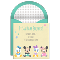 Disney Baby Shower